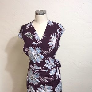 WRAP Floral Size XL Dress